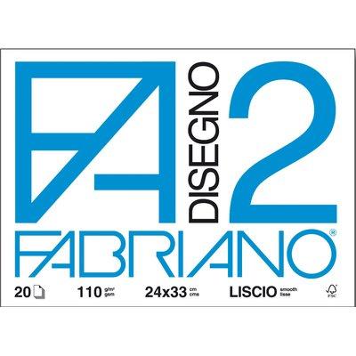 Fabriano Disegno 2 – Liscio – 24×33 [ TT28913 ]