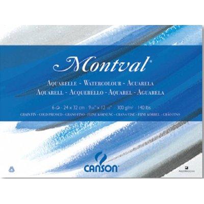 Fogli Linea Acquerello Montval Canson [ TT28947 ]
