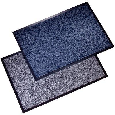 Tappeti antipolvere Floortex - bianco e nero - 90x120 cm - FC49120DCBWV [  TT32632 ]
