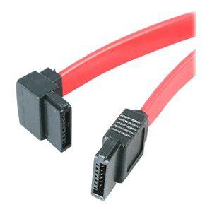 12in SATA To Left Angle SATA Serial ATA Cable [ TT718533 ]