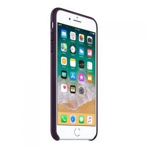 Apple – Copertina Per Cellulare – Pelle – Melanzana Scuro – Per IPhone 7 Plus, 8 Plus [ TT552990 ]