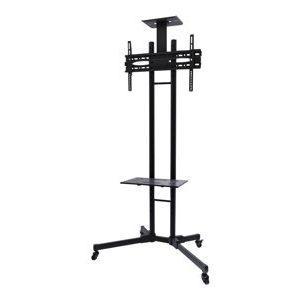 NewStar Mobile Monitor/TV Floor Stand PLASMA-M1700E – Carrello Per LCD / Schermo Al Plasma / Sistema AV – Nero – Dimensione Schermo: 32″-55″ – Interfaccia Montaggio: 200 X 200 Mm [ TT189186 ]