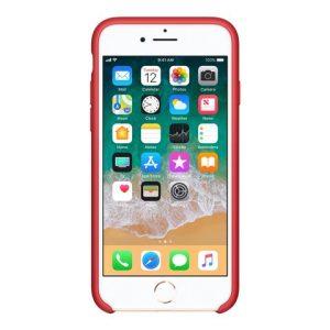 Apple (PRODUCT) RED – Copertina Per Cellulare – Silicone – Rosso – Per IPhone 7, 8 [ TT552963 ]