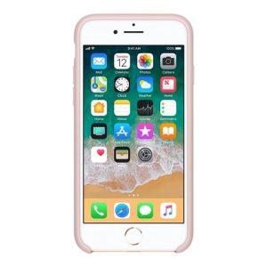Apple – Copertina Per Cellulare – Silicone – Sabbia Rosa – Per IPhone 7, 8 [ TT552964 ]