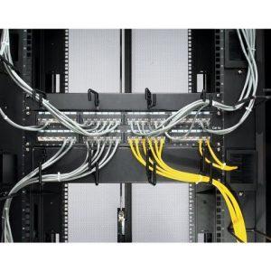 2U Horizontal Cable Organizer Black [ TT20352 ]