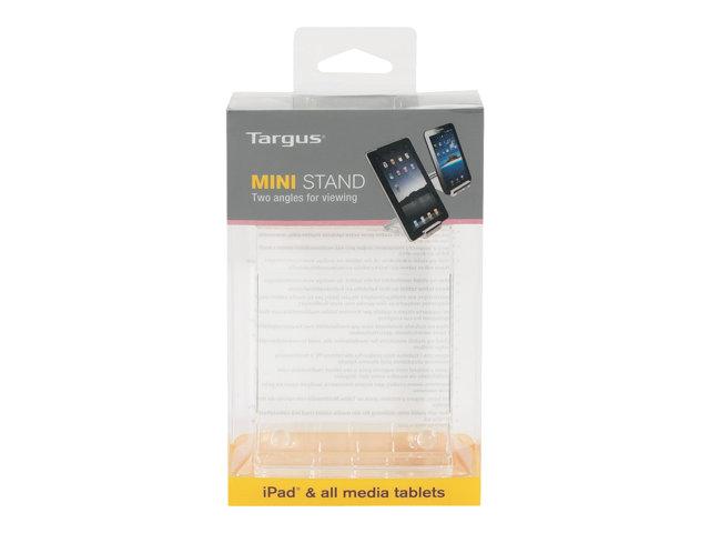 Targus 7 – 10 inches / 17.8 – 25.4cm Mini Stand for Media Tablets – Supporto per scrivania – trasparente – per Apple iPad 1 [ TT708605 ]