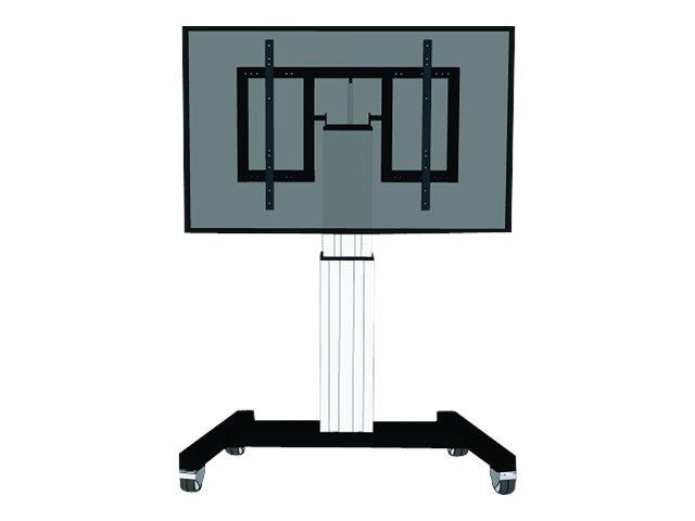 NewStar PLASMA-M2500 – Carrello per LCD / schermo al plasma / lettore multimediale / mini PC (motorizzato) – argento – dimensione schermo: 42″-100″ [ TT287171 ]