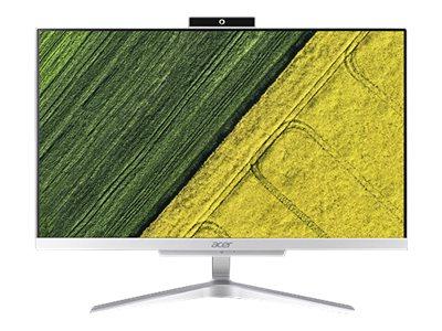 Acer Aspire C22-865 – All-in-one – 1 x Core i3 8130U / 2.2 GHz – RAM 4 GB – SSD 256 GB – UHD Graphics 620 – GigE – WLAN: 802.11a/b/g/n/ac, Bluetooth 4.2 – Win 10 Home 64 bit -monitor: LED 21.5″ 1920 x 1080 (Full HD) [ TT718751 ]
