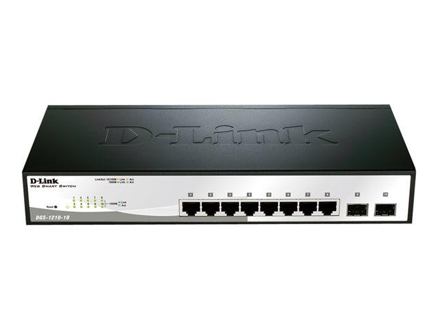 8-Prt Gigabit Smart Switch w 2 SFP prts [ TT139177 ]