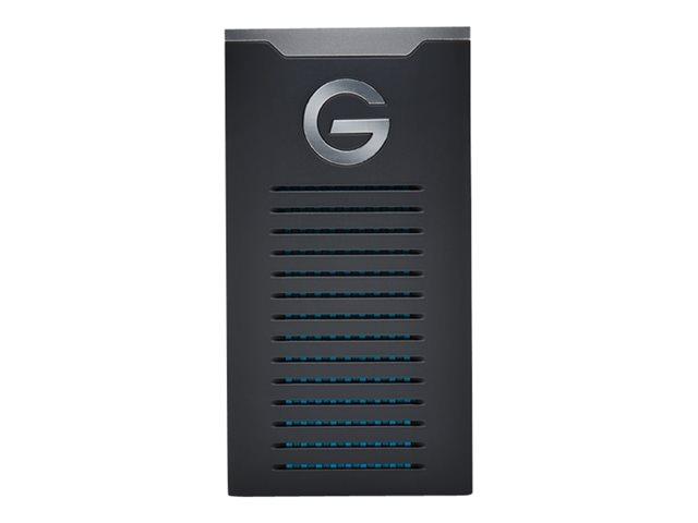 G-Technology G-DRIVE Mobile SSD R-Series GDRRUCWWA10001SDB – SSD – 1 TB – esterno (portatile) – USB 3.1 Gen 2 (USB-C connettore) [ TT796472 ]