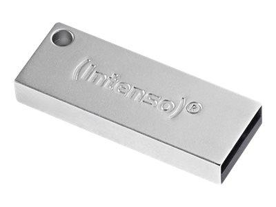 Intenso Premium Line – Chiavetta USB – 64 GB – USB 3.0 – argento [ TT722985 ]