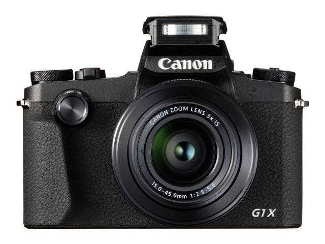 Canon PowerShot G1 X Mark III – Fotocamera digitale – compatta – 24.2 MP – APS-C – 1080p / 60 fps – 3zoom ottico x – Wi-Fi, NFC, Bluetooth [ TT709895 ]