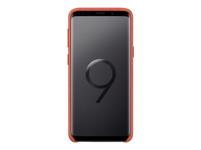 Samsung Alcantara Cover EF-XG960 – Copertina per cellulare – alcantara – rosso – per Galaxy S9 [ TT729497 ]