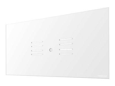 NewStar – Componente di montaggio (schermo di sicurezza) per 2 monitor – acrilico 100% – trasparente – dimensione schermo: 22″-27″ – interfaccia montaggio: 100 x 100 mm – supporto da scrivania [ TT801563 ]
