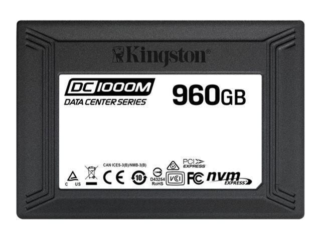 Kingston Data Center DC10000M – SSD – 960 GB – interno – 2.5″ – U.2 PCIe 3.0 x4 (NVMe) [ TT801710 ]