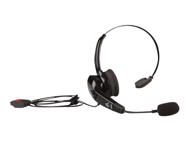 Zebra HS2100 – Auricolare con microfono – sull'orecchio – convertibile – cablato – jack 3,5 mm [ TT713336 ]