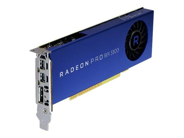 AMD Radeon Pro WX 3100 – Scheda grafica – Radeon Pro WX 3100 – 4 GB – 2 x Mini DisplayPort, DisplayPort – per Precision Tower 3420 [ TT708376 ]