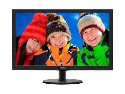 Philips V-line 223V5LHSB – Monitor a LED – 21.5″ – 1920 x 1080 Full HD – 250 cd/m2 – 1000:1 – 5 ms – HDMI, VGA – nero testurizzato, black hairline [ TT55292 ]