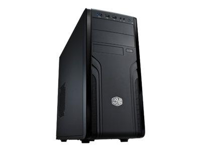 Cooler Master CM Force 500 – Mid tower – ATX – senza alimentazione ( ATX / PS/2 ) – nero – USB/Audio [ TT52592 ]