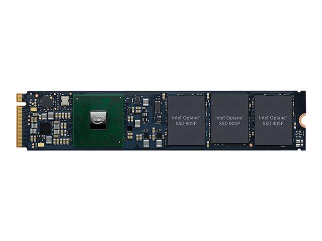 Intel Optane SSD 905P Series – SSD – crittografato – 380 GB – 3D Xpoint (Optane) – interno – M.2 22110 – PCI Express 3.0 x4 (NVMe) – 256 bit AES [ TT790403 ]