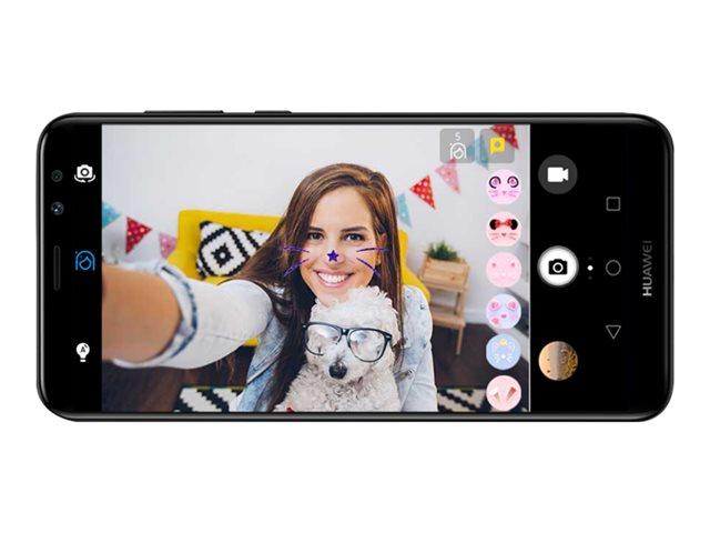 Huawei Mate 10 Lite – Smartphone – dual SIM – 4G LTE – 64 GB – microSDXC slot – GSM – 5.9″ – 2160 x 1080 pixel (407 ppi) – IPS – RAM 4 GB – 16 MP (telecamera anteriore 13 MP) – Android – Graphite Black [ TT553912 ]