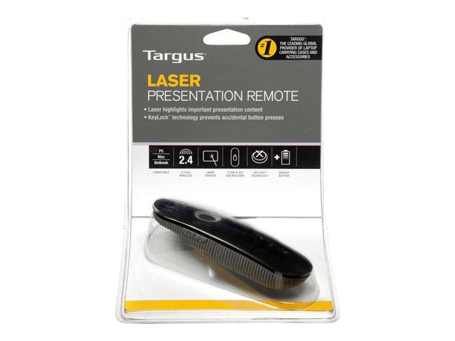 Targus Laser Presentation Remote – Telecomando presentazioni – RF [ TT275031 ]