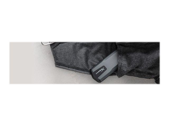 HyperX Savage EXO – SSD – 480 GB – esterno (portatile) – USB 3.1 Gen 2 (USB-C connettore) [ TT719276 ]