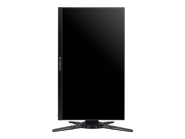 Acer Predator XB252Q – 3D monitor a LED – 24.5″ – 1920 x 1080 Full HD (1080p) – TN – 400 cd/m² – 1000:1 – 1 ms – HDMI, DisplayPort – altoparlanti – nero, argento scuro [ TT164132 ]