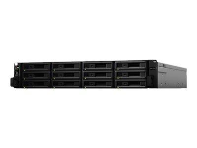 Synology RackStation RS3617RPxs – Server NAS – 12 alloggiamenti – montabile in rack – SATA 6Gb/s – RAID 0, 1, 5, 6, 10, JBOD – Gigabit Ethernet – iSCSI – 2U [ TT274257 ]