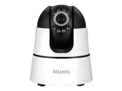 Atlantis Land +CAM HD 7500 PC7500-MT1 – Telecamera di sorveglianza connessa in rete – panoramica / inclinazione – colore (Giorno e notte) – 1 MP – 1280 x 720 – focale fisso – audio – wireless – Wi-Fi – LAN 10/100 – H.264 – 5 V c.c. [ TT721371 ]