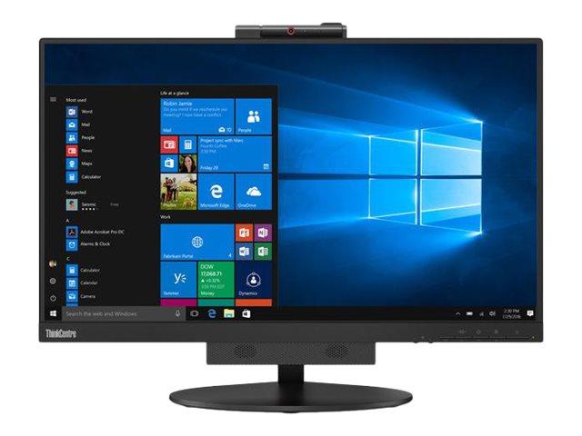 Lenovo ThinkCentre Tiny-in-One 24 – Gen 3 – monitor a LED – 23.8″ (23.8″ visualizzabile) – 1920 x 1080 Full HD (1080p) – IPS – 250 cd/m² – 1000:1 – 4 ms – DisplayPort – altoparlanti – nero [ TT688887 ]