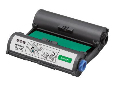 Epson RC-R1GNA – 1 – verde – 100 mm x 30 m – nastro di stampa – per LabelWorks Pro100 [ TT227957 ]