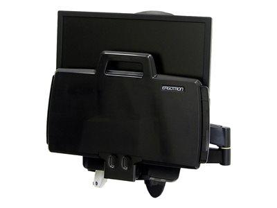 Braccio a muro serie 200 Combo Arm per LCD (fino a 24″) e Tastiera, portata 2.7-8.2Kg, sollev.fino a 13cm, estens.braccio fino a 99cm, Nero [ TT42970 ]