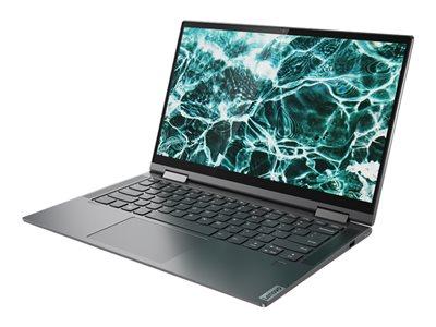 Lenovo Yoga C740-14IML 81TC – Design ruotabile – Core i5 10210U / 1.6 GHz – Win 10 Home 64 bit – 16 GB RAM – 512 GB SSD NVMe – 14″ IPS touchscreen 1920 x 1080 (Full HD) – UHD Graphics – Bluetooth, Wi-Fi – grigio ferro – tast: italiana [ TT803101 ]