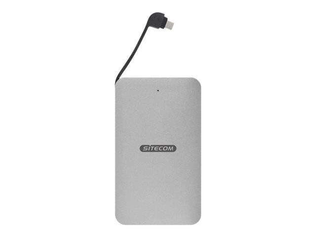 Sitecom MD-401 – Box esterno – 2.5″ – SATA 6Gb/s – 6 Gbit/s – USB-C [ TT799036 ]