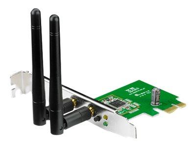 ASUS PCE-N15 – Adattatore di rete – PCIe basso profilo – 802.11b, 802.11g, 802.11n [ TT142059 ]