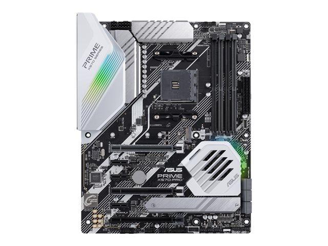 ASUS PRIME X570-PRO – Scheda madre – ATX – Socket AM4 – AMD X570 – USB-C Gen2, USB 3.2 Gen 1, USB 3.2 Gen 2 – Gigabit LAN – scheda grafica (richiesta CPU) – HD Audio (8 canali) [ TT792546 ]