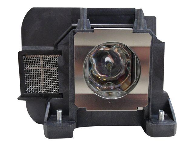 V7 – Lampada proiettore (equivalente a: Epson V13H010L77) – 2000 ora/e – per Epson EB-1970, 1975, 1980, 1985, 4550, 4650, 4750, 4770, 4850, 4950; PowerLite 4750, 4855 [ TT708983 ]