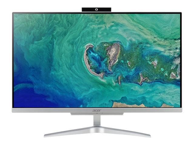 Acer Aspire C24-865 – All-in-one – 1 x Core i5 8250U / 1.6 GHz – RAM 8 GB – SSD 256 GB – UHD Graphics 620 – GigE – WLAN: 802.11a/b/g/n/ac, Bluetooth 4.2 – Win 10 Home 64-bit -monitor: LED 23.8″ 1920 x 1080 (Full HD) [ TT718762 ]
