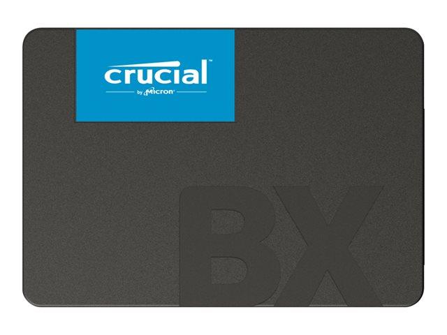 Crucial BX500 – SSD – 480 GB – interno – 2.5″ – SATA 6Gb/s [ TT801721 ]