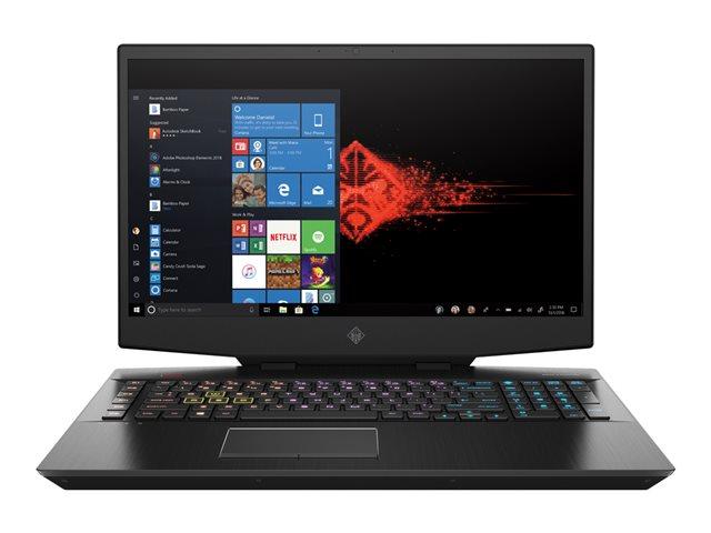 OMEN by HP 17-cb0030nl – Core i7 9750H / 2.6 GHz – Win 10 Home 64 bit – 16 GB RAM – 256 GB SSD NVMe + 1 TB HDD – 17.3″ IPS 1920 x 1080 (Full HD) – GF RTX 2070 – Wi-Fi, Bluetooth – nero ombreggiato, finitura a righe sottili sabbiata – tast: italiana [ TT801105 ]
