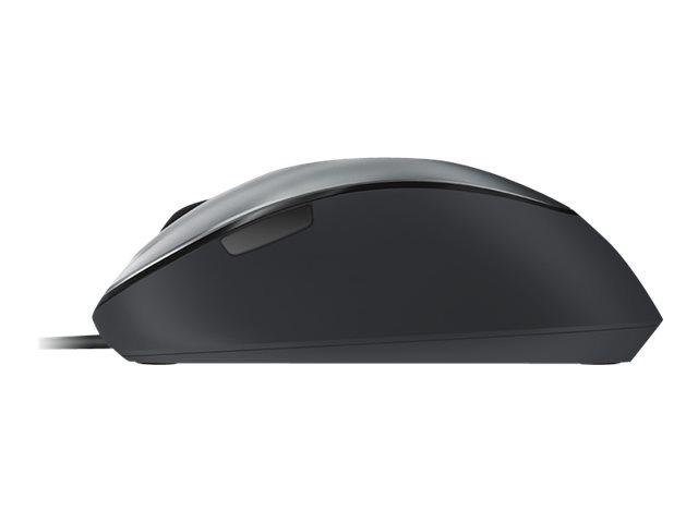 Microsoft Comfort Mouse 4500 – Mouse – ottica – 5 pulsanti – cablato – USB – grigio Lochness [ TT154713 ]
