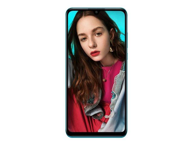 Huawei P30 lite – Smartphone – dual SIM – 4G LTE – 128 GB – microSDXC slot – GSM – 6.15″ – 2312 x 1080 pixel (415 ppi) – LTPS – RAM 4 GB (telecamera anteriore 24 MP) – 3 x telecamere posteriori – Android – blu pavone [ TT797206 ]