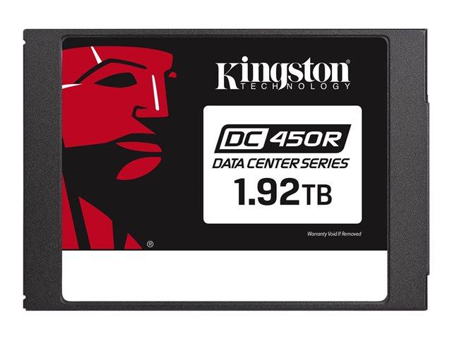 Kingston Data Center DC450R – SSD – crittografato – 1.92 TB – interno – 2.5″ – SATA 6Gb/s – 256 bit AES – Self-Encrypting Drive (SED) [ TT796428 ]