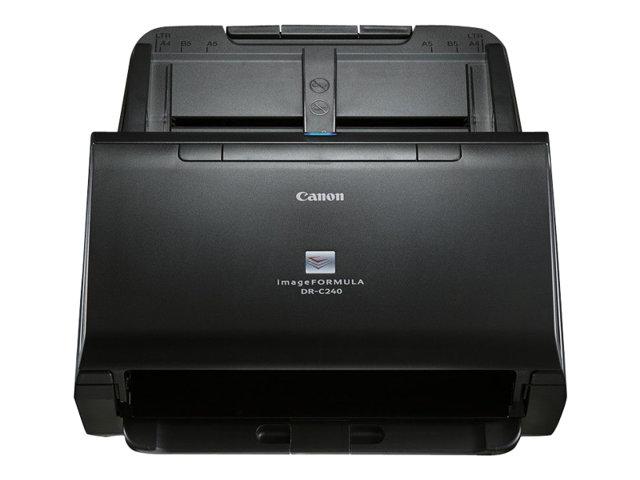 Canon imageFORMULA DR-C240 – Scanner documenti – Duplex – Legal – 600 dpi x 600 dpi – fino a 45 ppm (mono) / fino a 30 ppm (colore) – ADF (Alimentatore automatico documenti) ( 60 fogli ) – fino a 4000 scansioni al giorno – USB 2.0 [ TT137974 ]