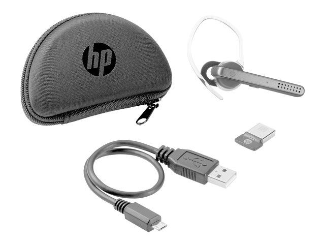 HP UC Wireless Mono – Auricolare con microfono – in-ear – Bluetooth – wireless – NFC – per HP 25X G7; EliteBook 10XX G1, 840r G4; EliteBook x360; ProBook x360; Spectre x360 [ TT795640 ]