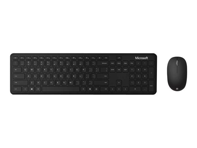 Microsoft Bluetooth Desktop – Set mouse e tastiera – senza fili – Bluetooth 4.0 – Italiano – nero opaco [ TT802072 ]