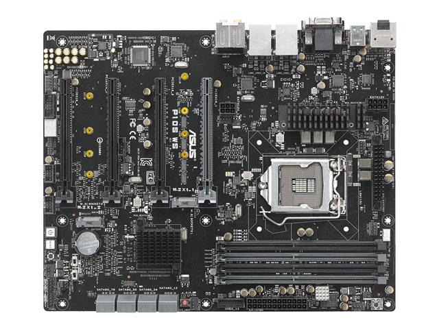 ASUS P10S WS – Scheda madre – ATX – LGA1151 Socket – C236 – USB 3.0, USB 3.1, USB-C – 2 x Gigabit LAN – scheda grafica (richiesta CPU) – HD Audio (8 canali) [ TT230160 ]