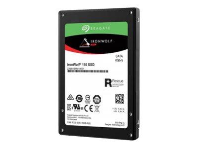 Seagate IronWolf 110 ZA960NM10011 – SSD – 960 GB – interno – 2.5″ – SATA 6Gb/s – con 2 anni Seagate Recupero dei dati di salvataggio [ TT794964 ]