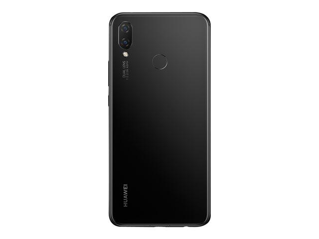 Huawei P Smart+ – Smartphone – dual SIM – 4G LTE – 64 GB – microSDXC slot – GSM – 6.3″ – 2340 x 1080 pixel (409 ppi) – IPS – RAM 4 GB – 16 MP (telecamera anteriore 24 MP) – Android – nero [ TT713664 ]